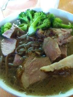 Fatty Pork with Buckwheat Noodles