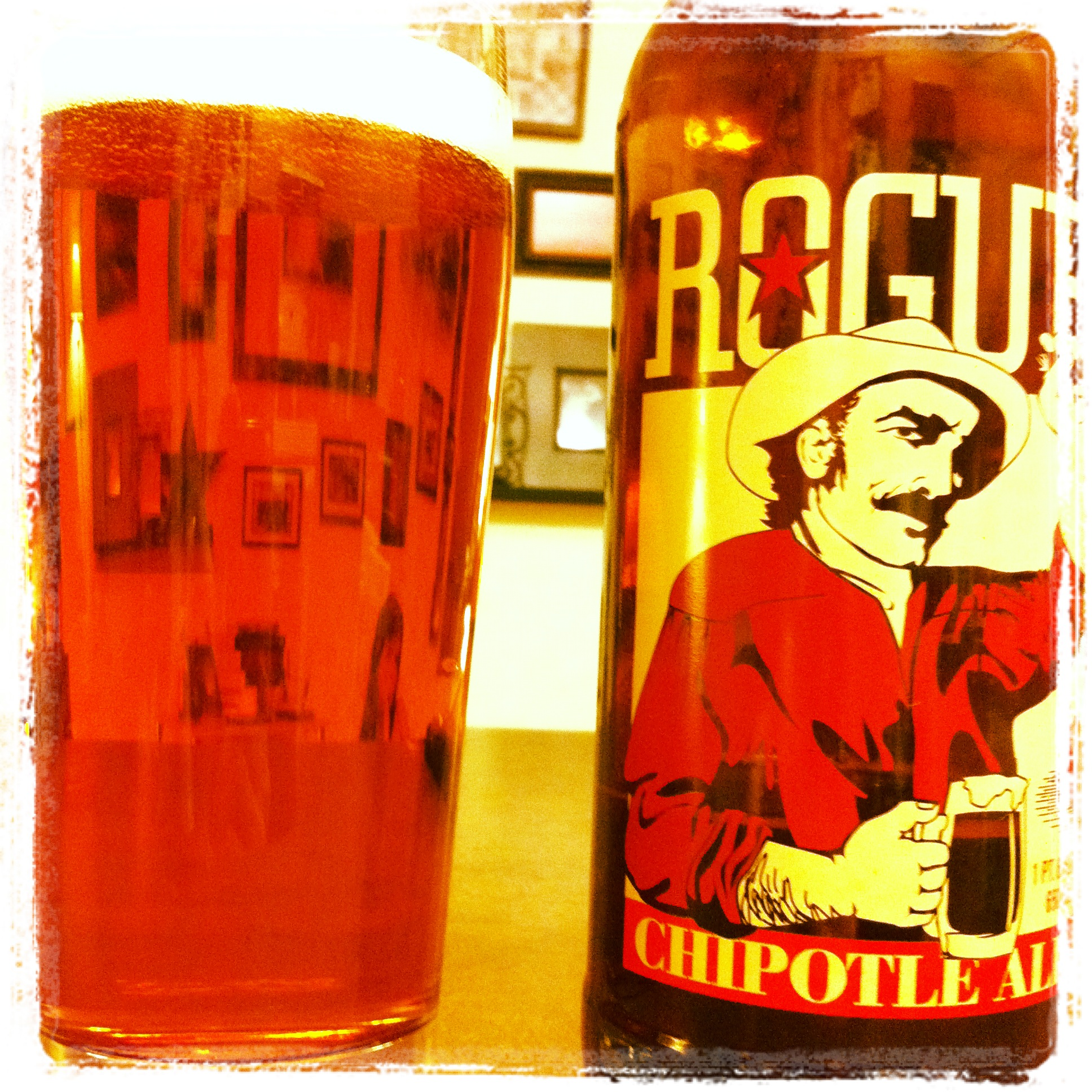 OREGON: Rogue Brewery's Chipotle Ale – Guest Post by Matt Anderson