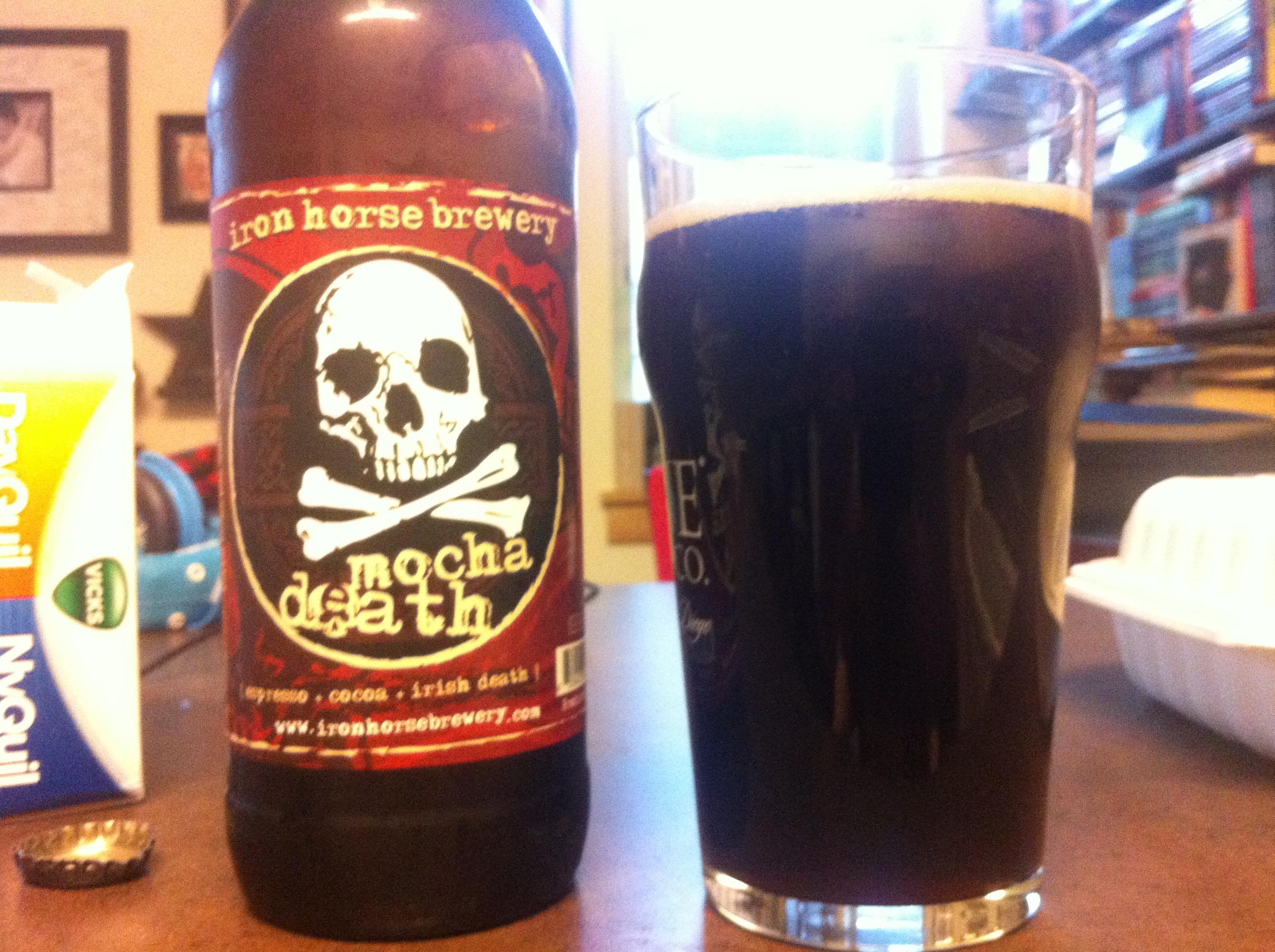 Iron Horse Brewery: Mocha Death