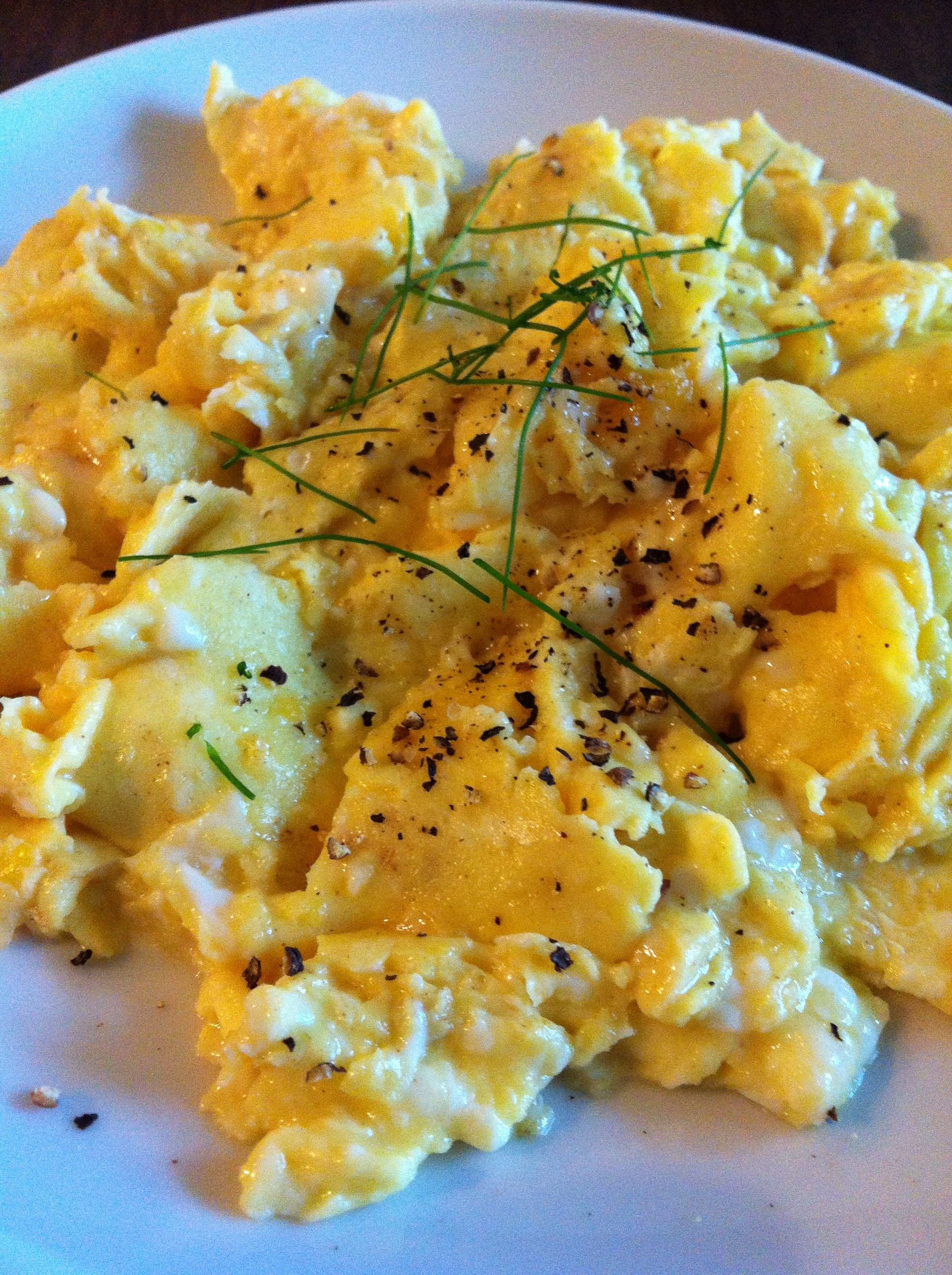 Perfect, Creamy, Velvety, Scrambled Eggs