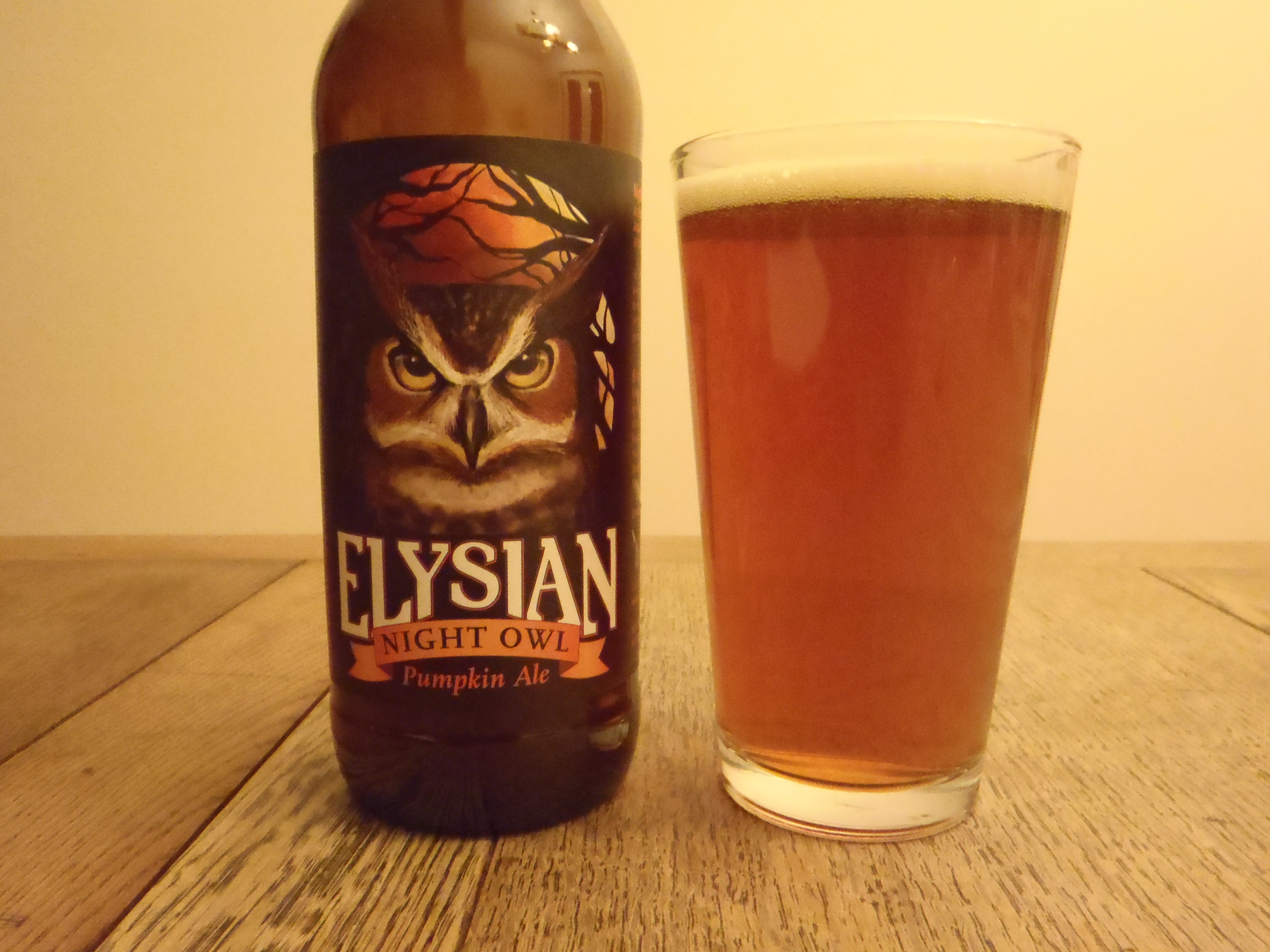 Elysian Night Owl – Head to Head – Review by Bill Fishburn