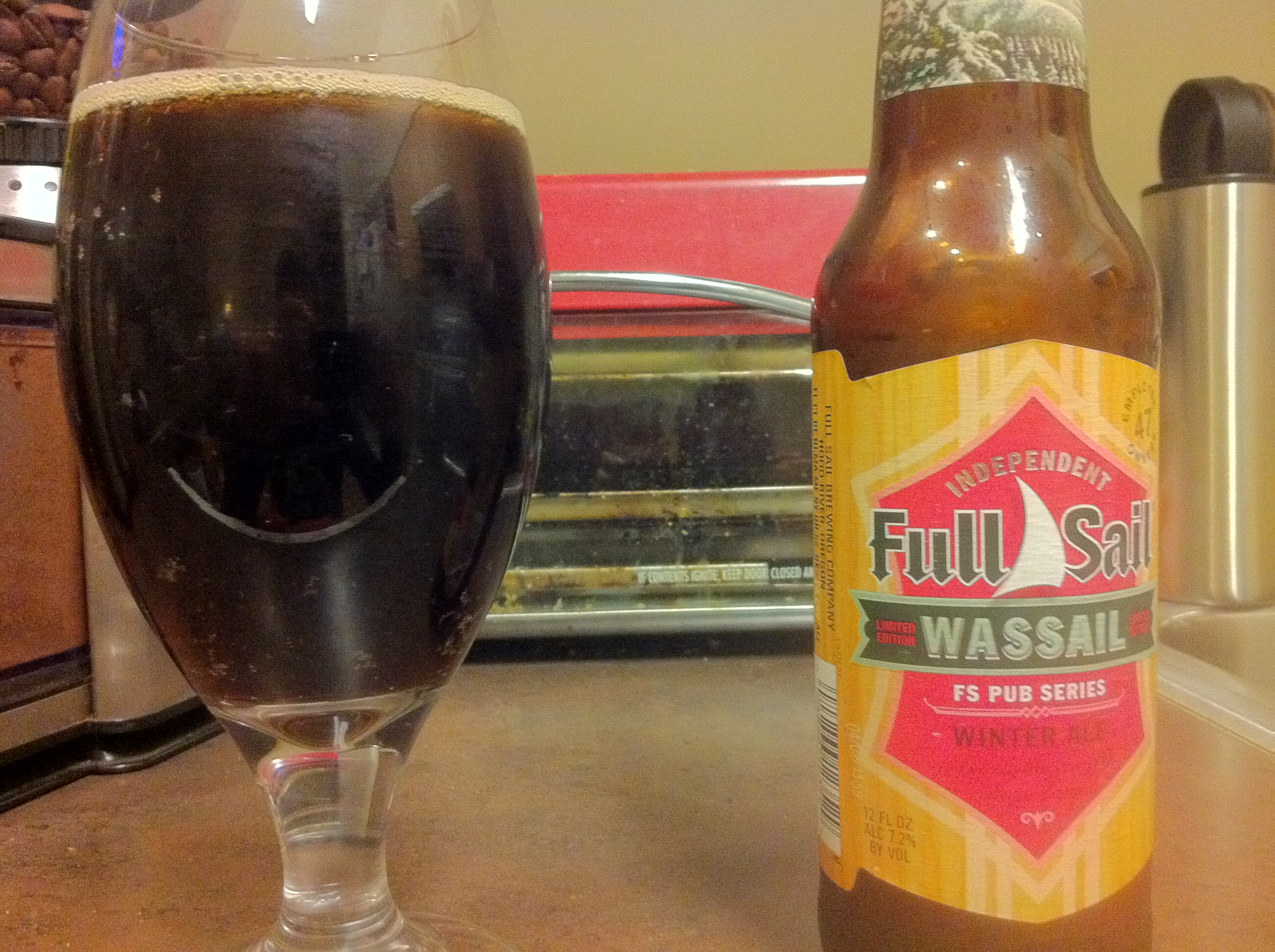 Friday Happy Hour: Full Sail's Wassail vs. Deschutes Jubeale