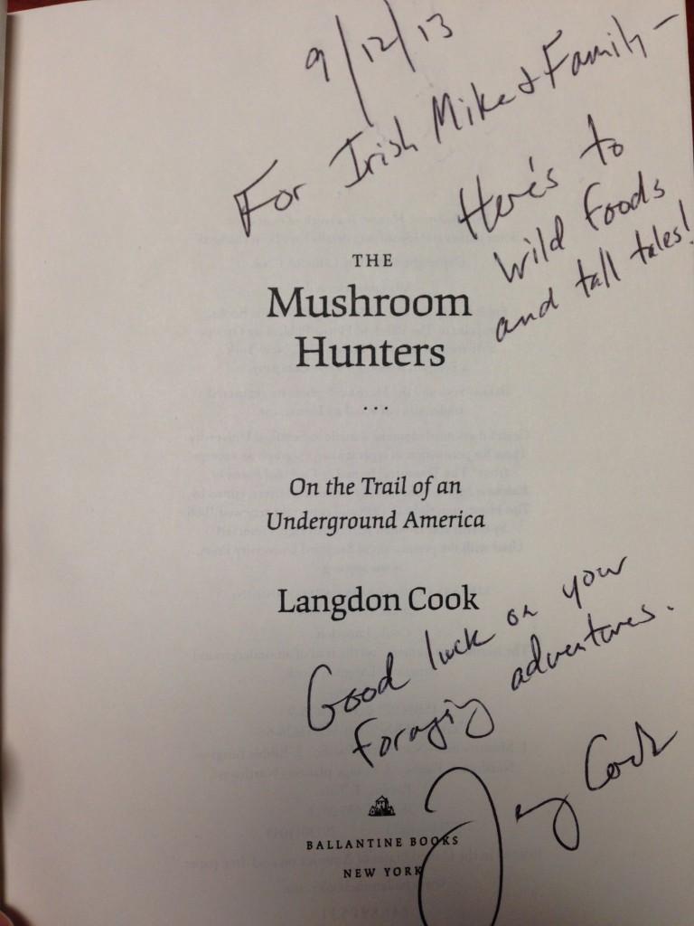 Mushroom Hunter Signed