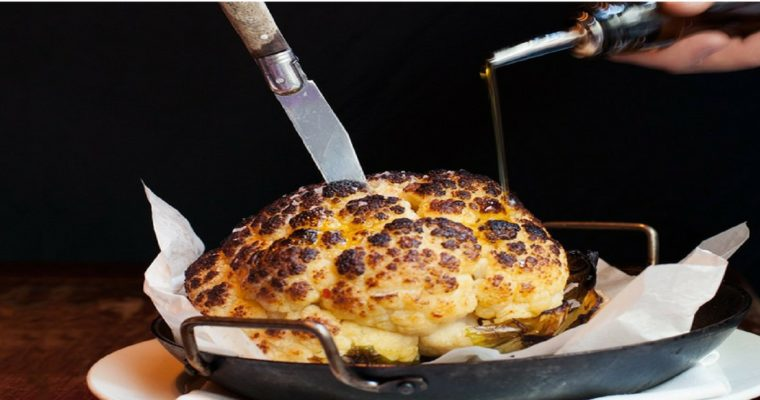 Roasted (whole) Cauliflower